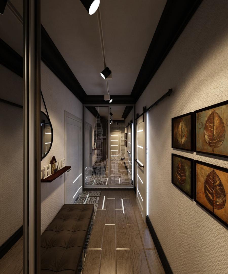 отделочным покрытиям фото необычные коридоры эти проекты дизайнера