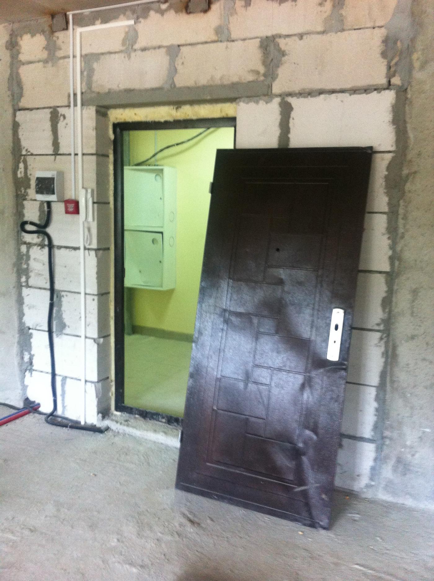металлические двери в подъезде г мытищи