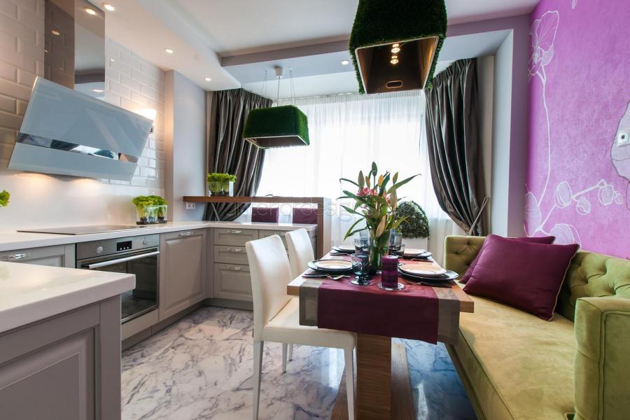 """Дизайн кухни с балконом вместе"""" - карточка пользователя nata."""