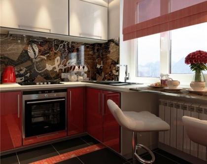 кухонная столешница вдоль окна.jpg