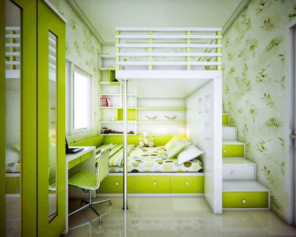 Как в одной комнате сделать две зоны: спальню 3