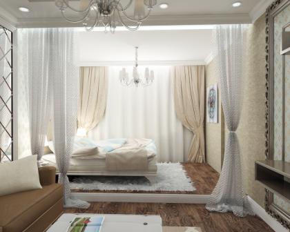 гостинная со спальней в одной комнате.jpg
